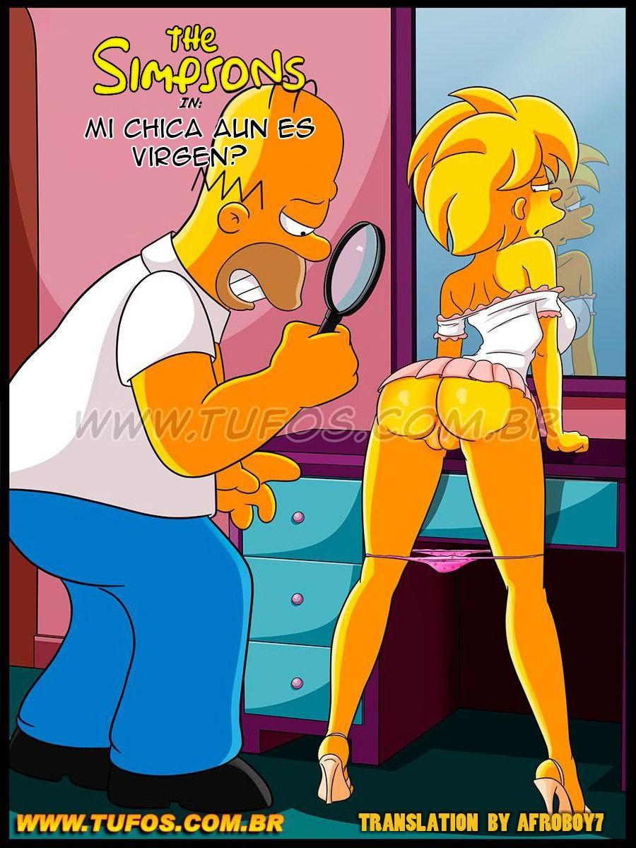 Homer Simpson se pregunta si Lisa es Virgen