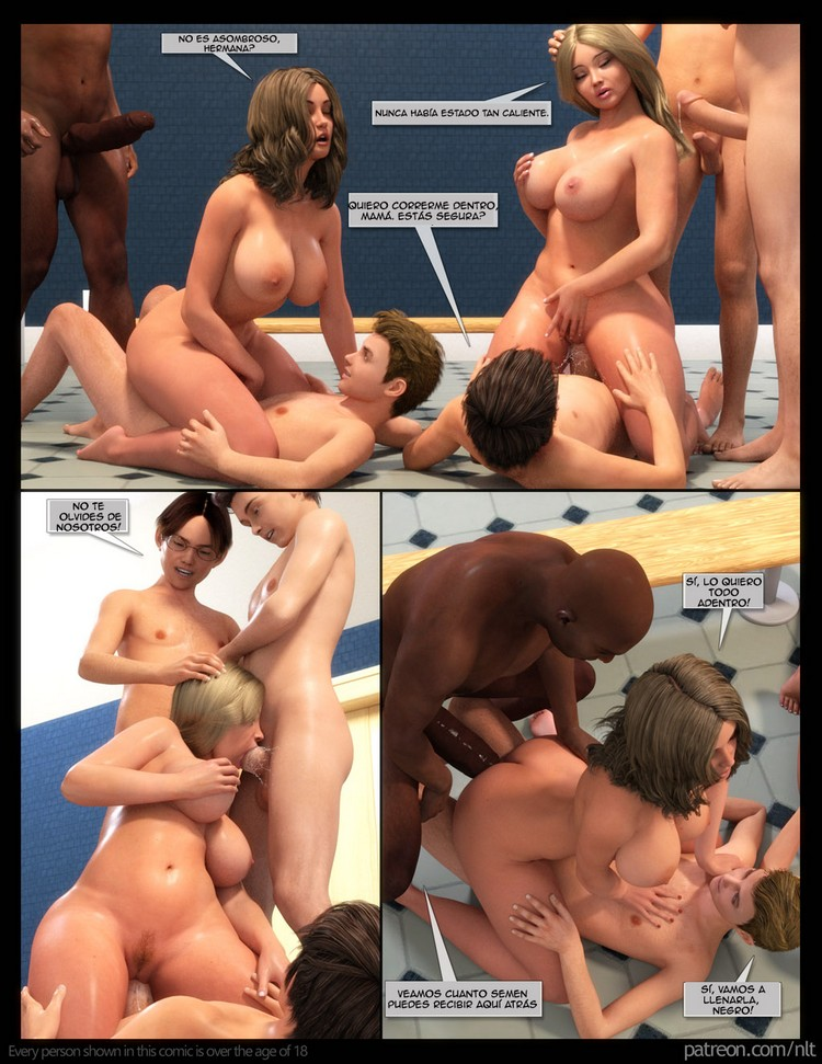Mother´s Gangbang – Cómic en 3D