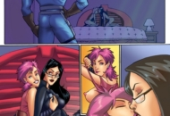 Baroness y Zarana escena lésbica de G.I. Joe
