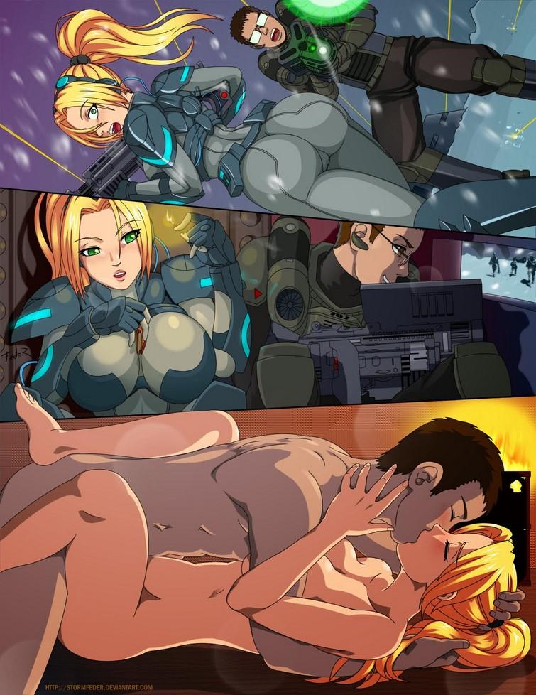 comic porno