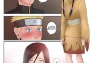Hanabi Hyuga Folla con Naruto
